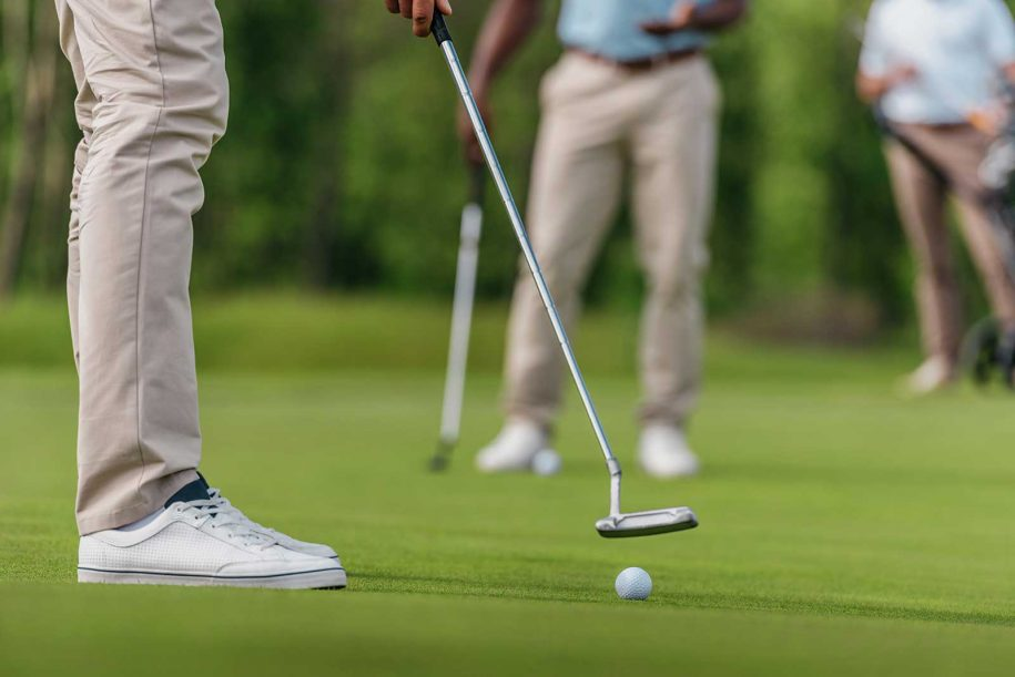 professional golfer and hes competitors